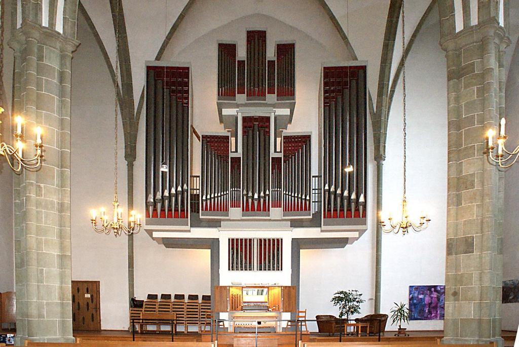 Orgel von Neu St. Thomä
